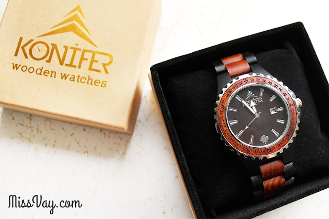 Les montres en bois Konifer