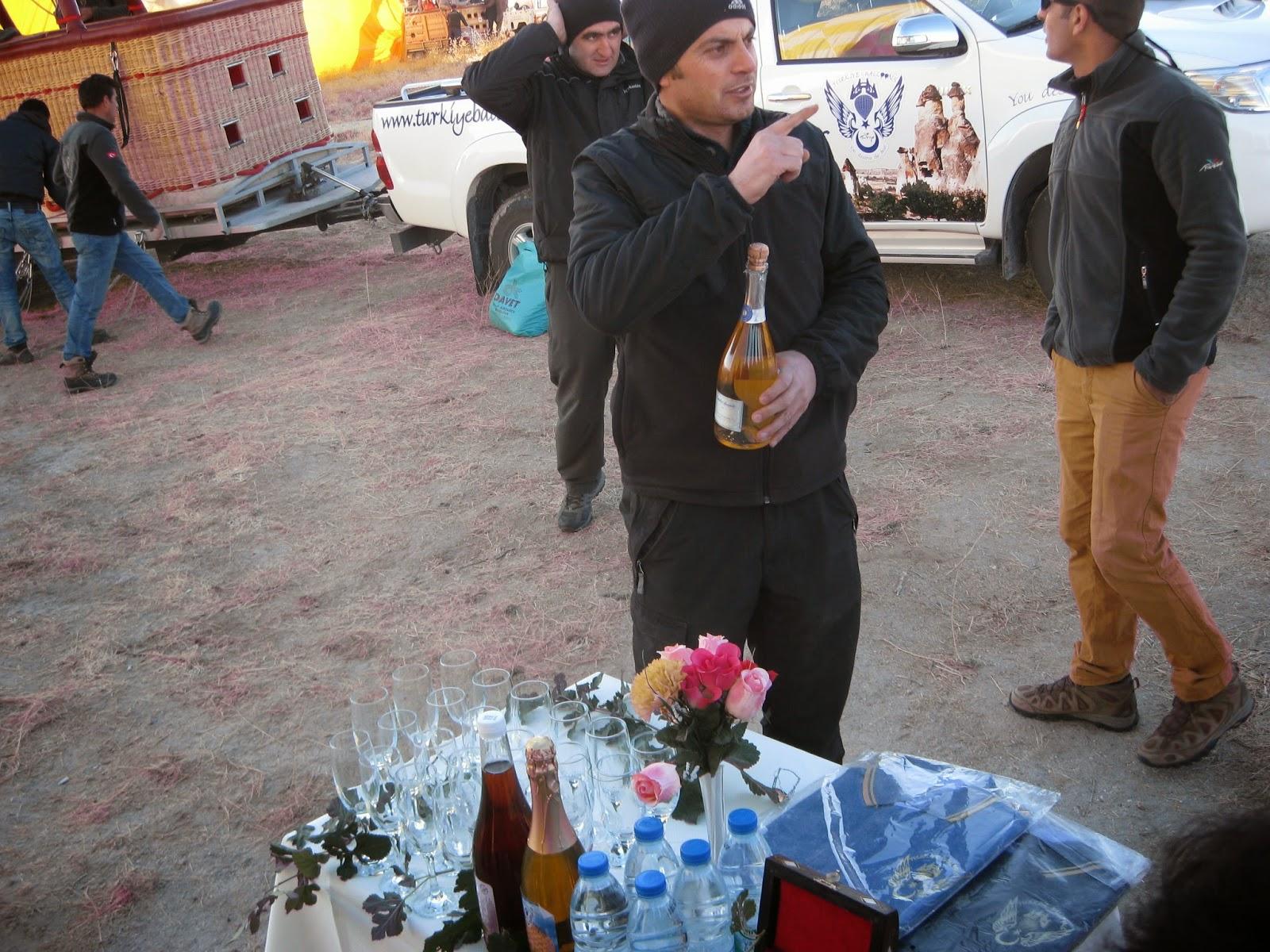 Cappadocia - Post-landing celebration
