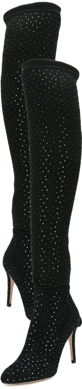 JIMMY CHOO Toni Boots shown in Black