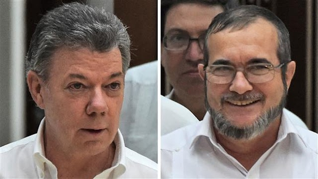 Colombian President Juan Manuel Santos  to sign peace deal with FARC leader Timoleon Jimenez