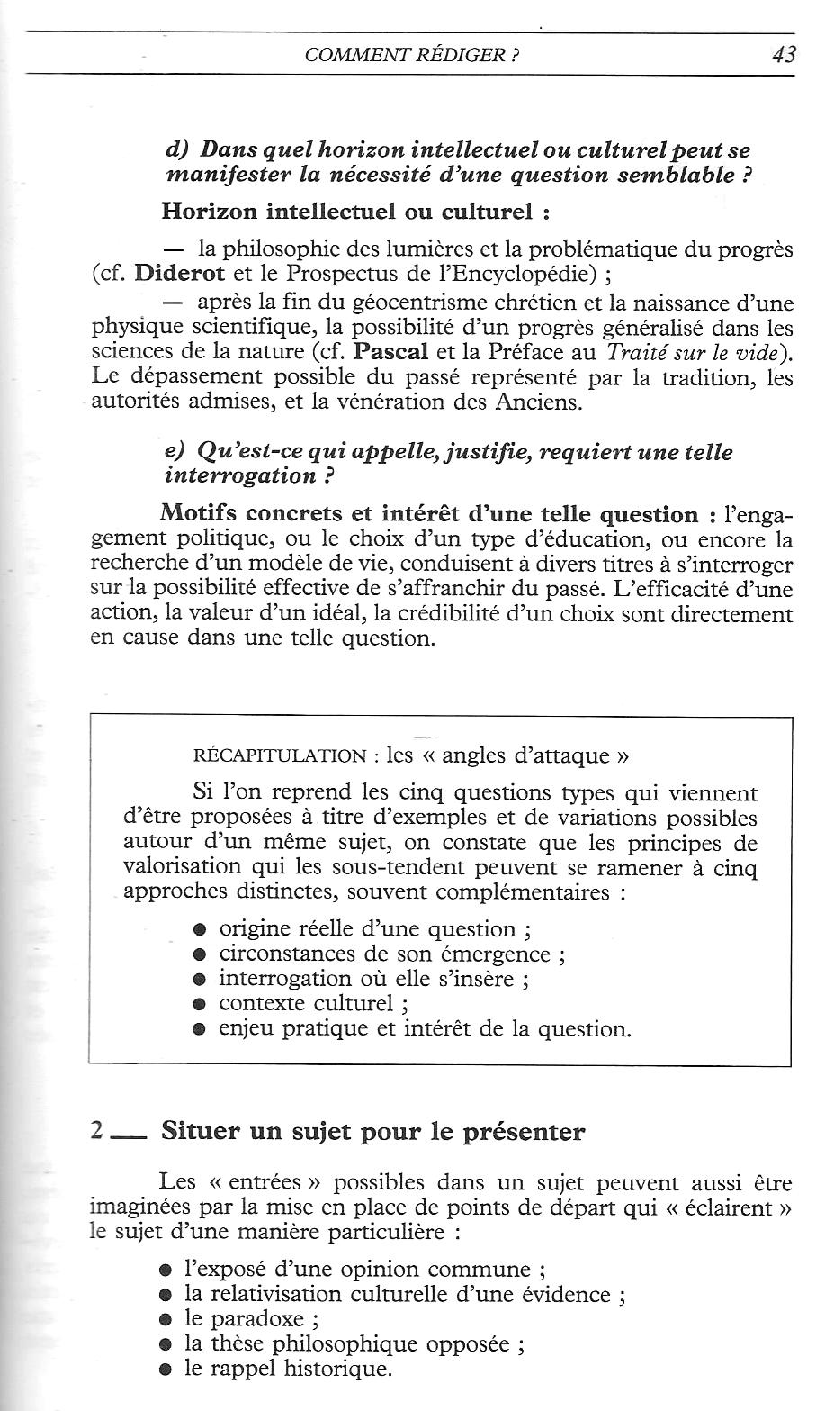 Super Manuels anciens: Pena-Ruiz, La Dissertation de philosophie (1986  OS03