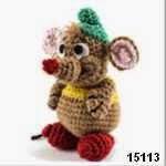 patron gratis raton gus gusamigurumi, free amigurumi pattern mouse gus gus