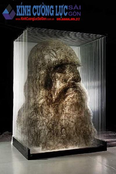 Cực ám ảnh với tác phẩm tranh kính 3D