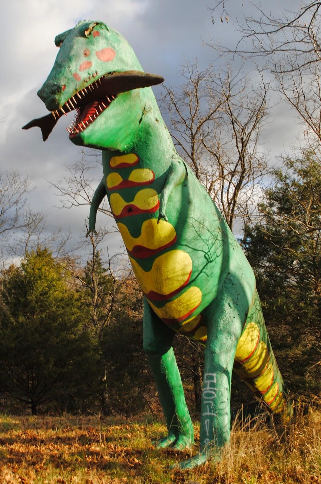 Dinosaur Park Arkansas : dinosaur, arkansas, Carpetbagger:, Dinosaur, World/John, Agar's, Kong:, Abandoned, Wonderland
