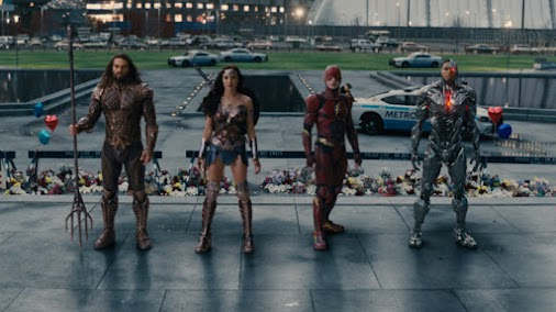 A Great Movie and A Great Time At The Movies #Justice #League #Review #SuperMovie