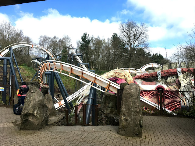 Alton Towers Nemesis