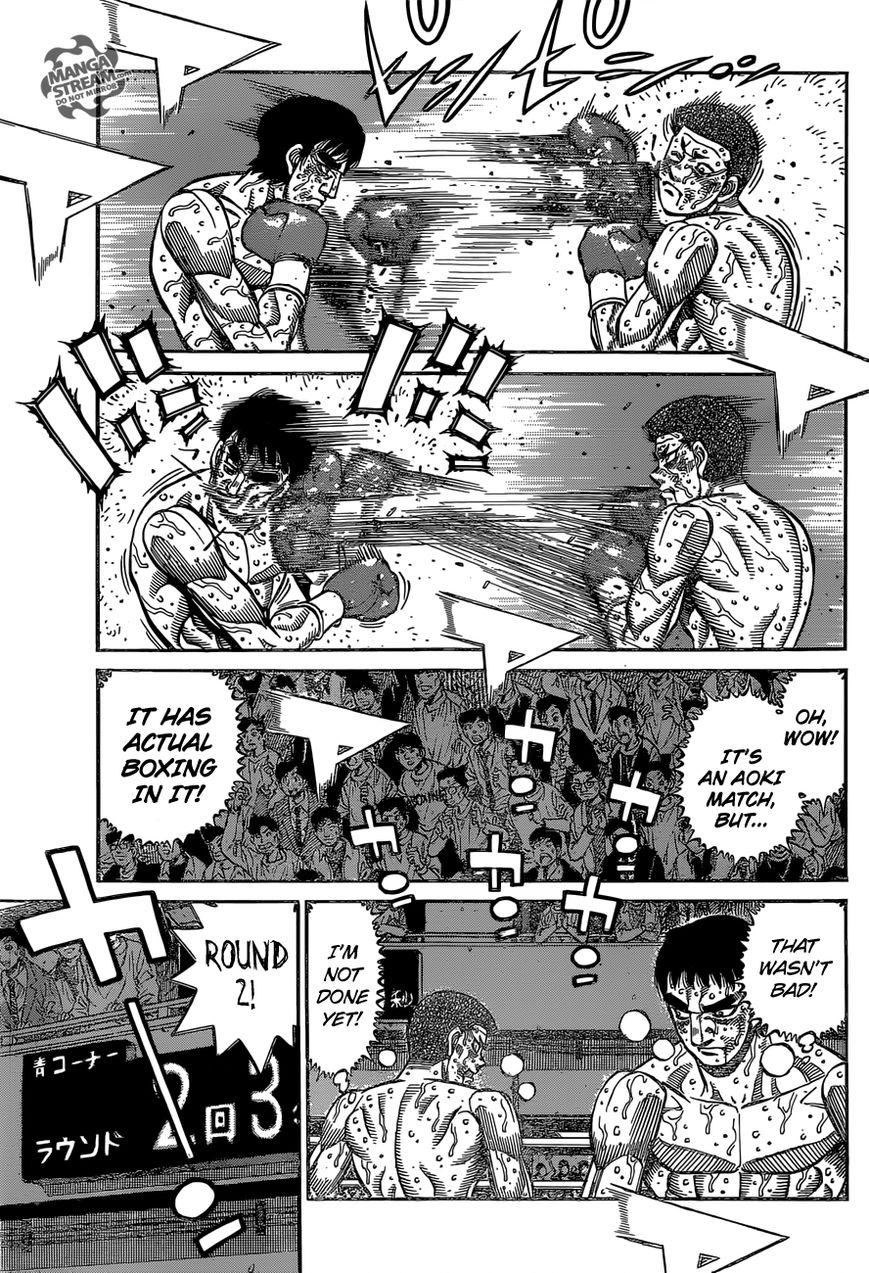 Hajime no Ippo - Chapter 1139