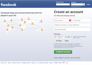 How To Open and Create New Facebook Account.