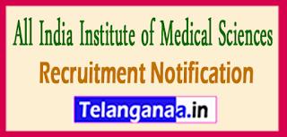 AIIMS Bhopal Recruitment Notification  2017 Last Date 22-06-2017