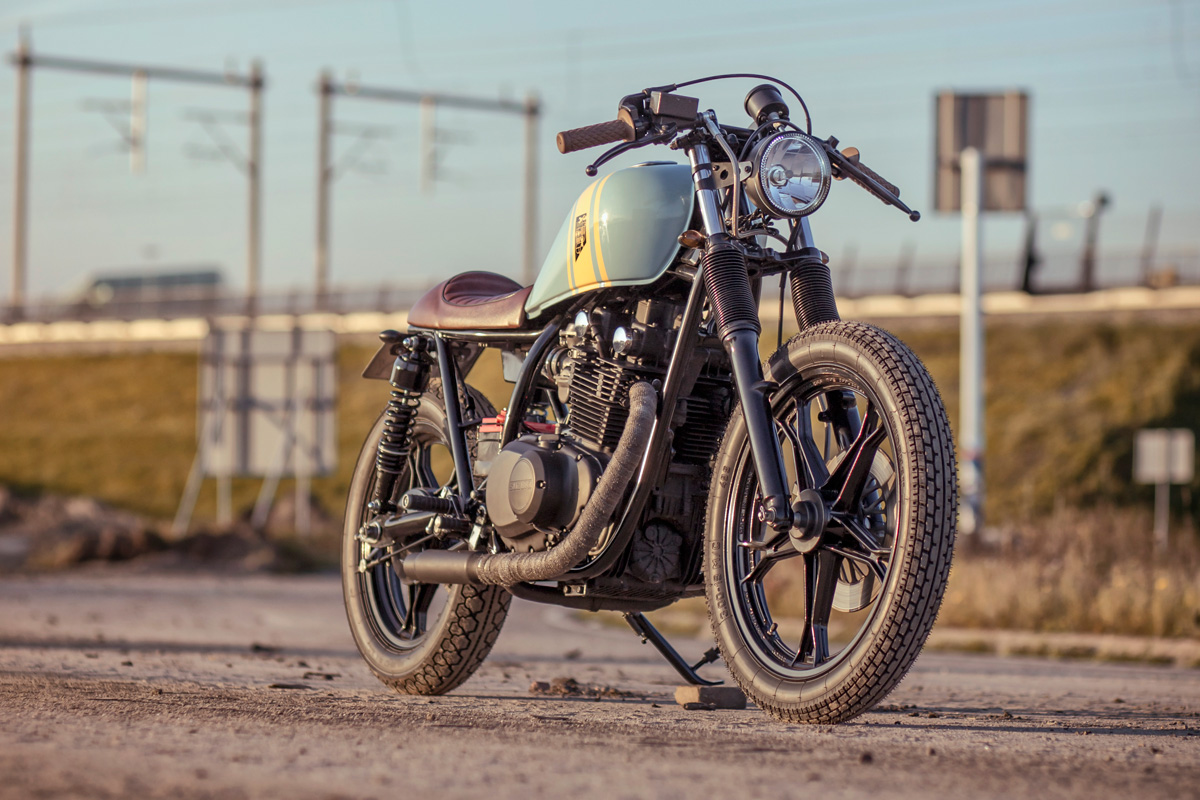 wrench kings suzuki gs450 ~ return of the cafe racers