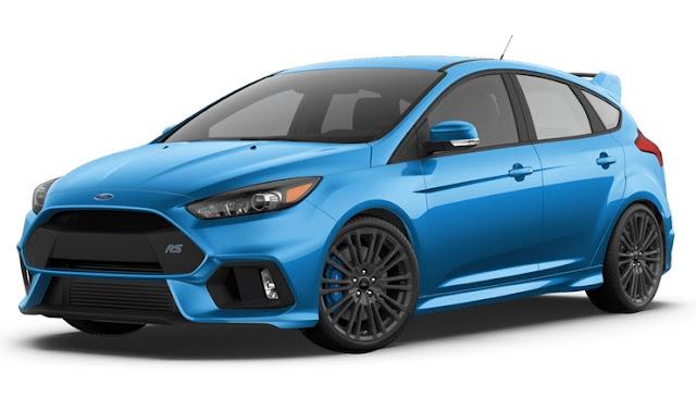Ford Focus RS mới phiên bản dự kiến trong tương lai