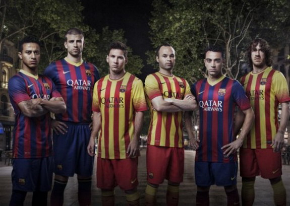 Barcelona release new kits for 2013/14 season