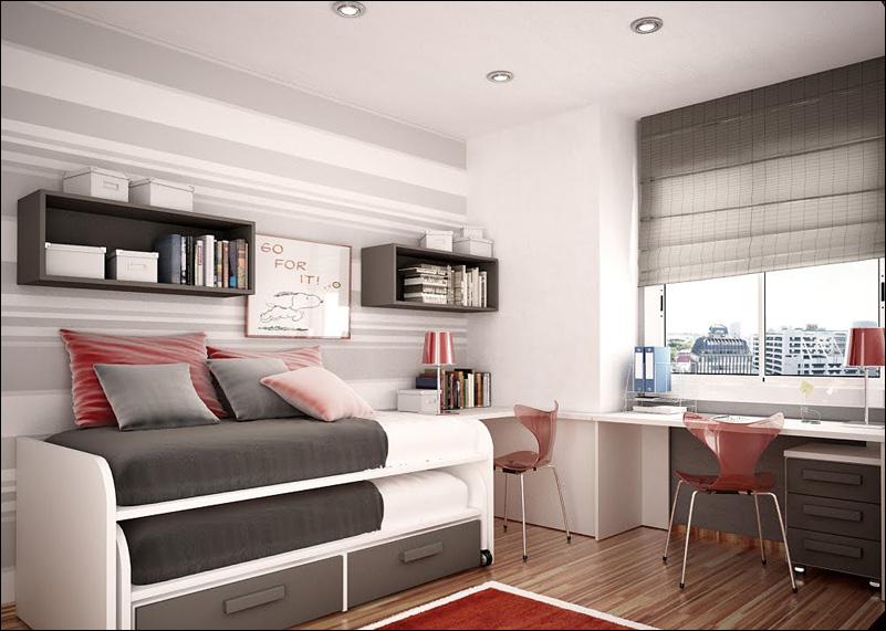 Modern Design for Teenage Boys | Exotic House Interior Designs on Teenage Bedroom Ideas Boy Small Room  id=33098