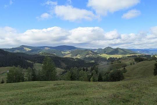 Góry Ławoriczorskie.