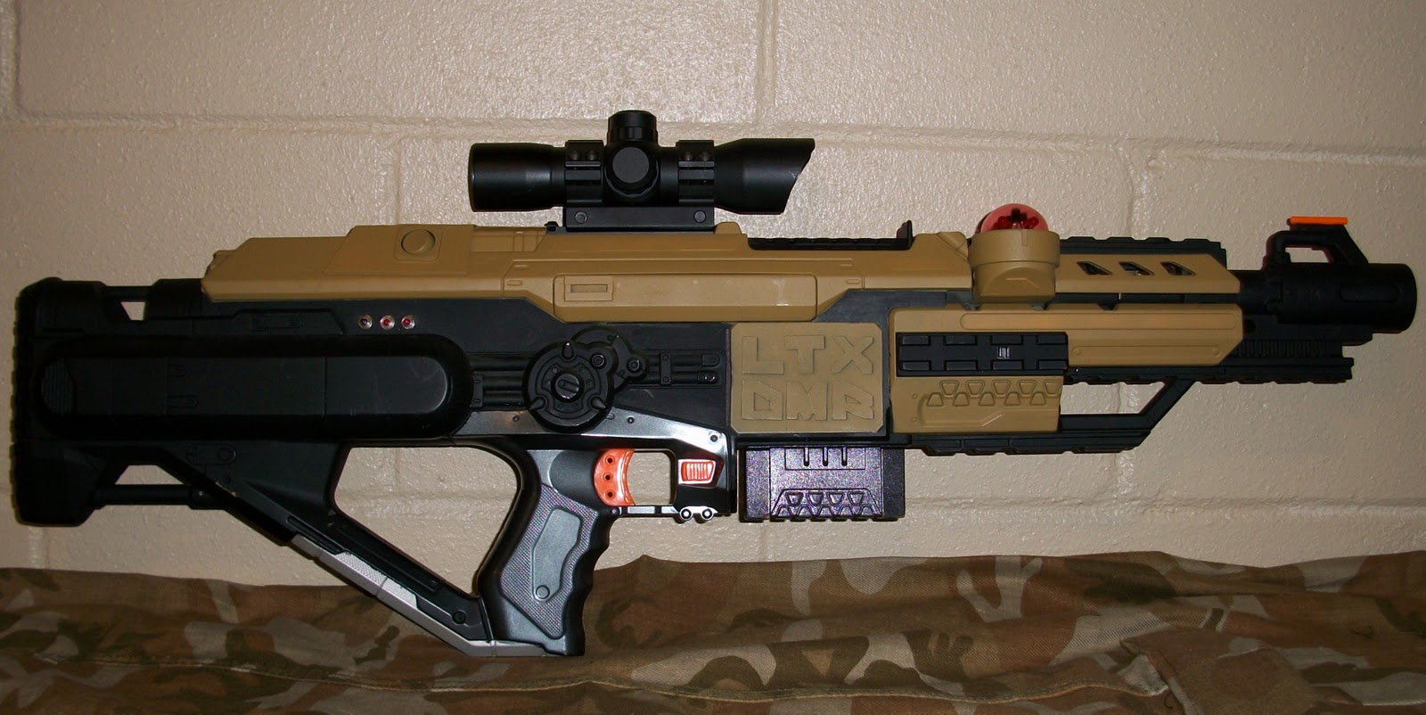 Urban Taggers Tactical Tag Ltx Dmr Complete