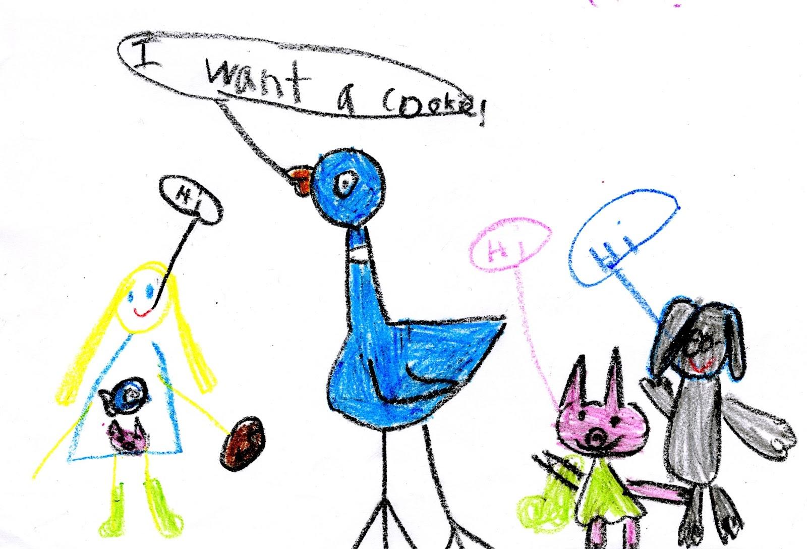 Mo Willems Doodles January 2013