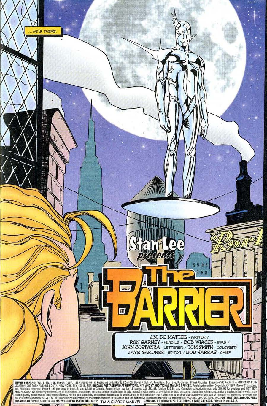 Read online Silver Surfer (1987) comic -  Issue #126 - 5