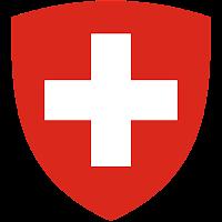 Logo Gambar Lambang Simbol Negara Swiss PNG JPG ukuran 200 px