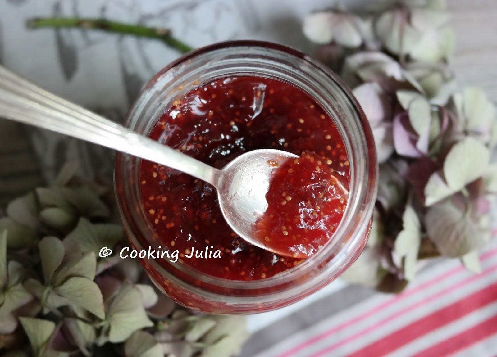 Cooking Julia Confiture Allegee De Figues Violettes