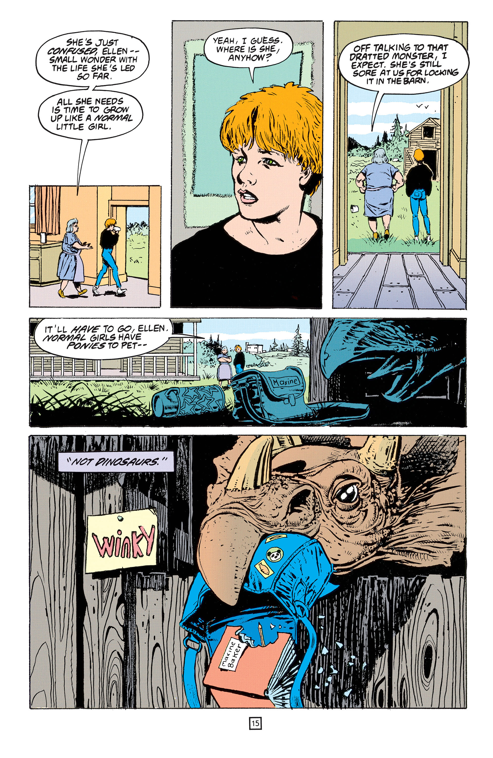 Read online Animal Man (1988) comic -  Issue #53 - 16