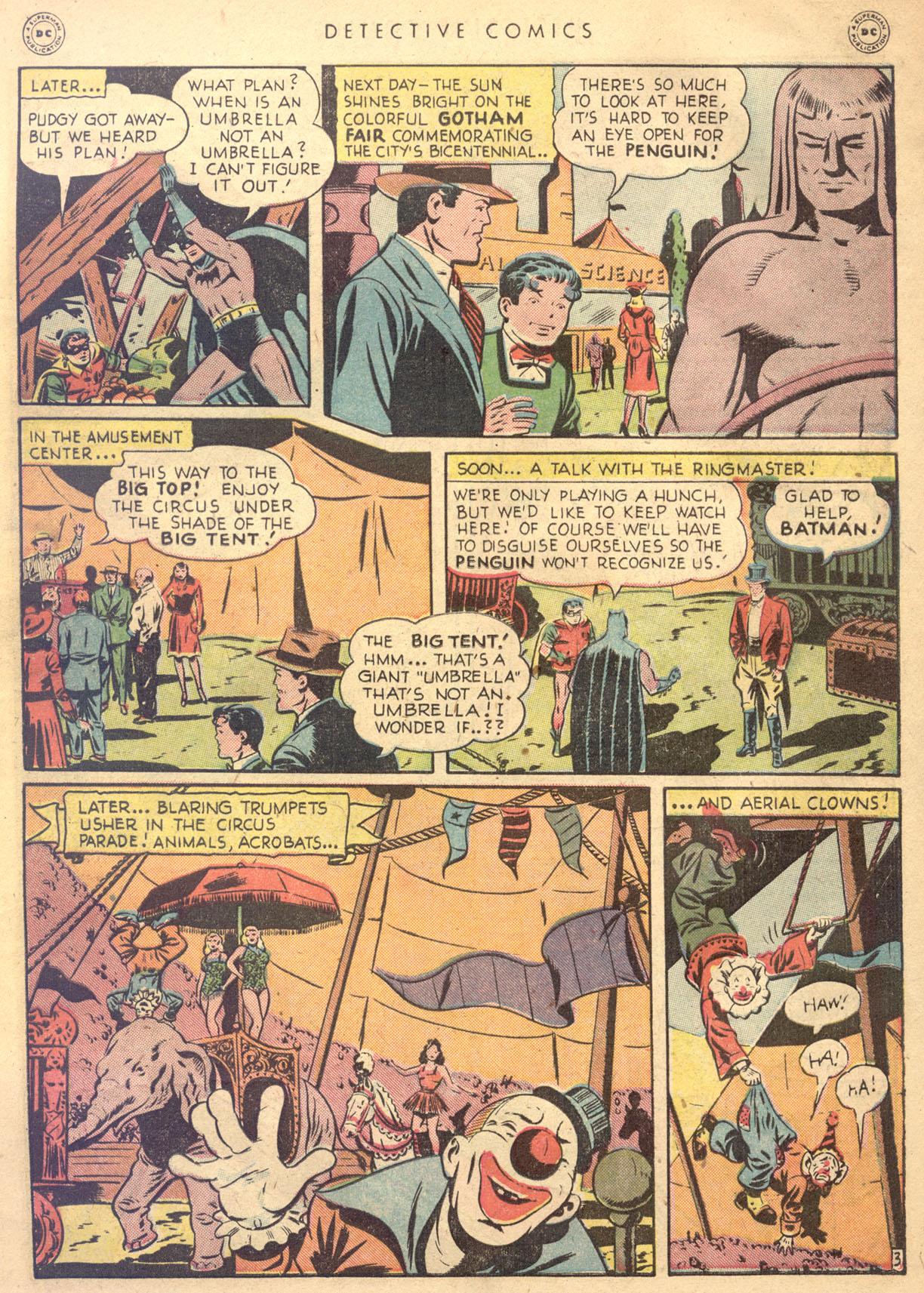 Read online Detective Comics (1937) comic -  Issue #134 - 5