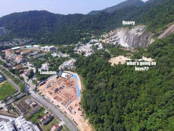 Tanah runtuh: Adun Tanjung Bungah Pernah Bantah Projek Pembinaan Kondominium