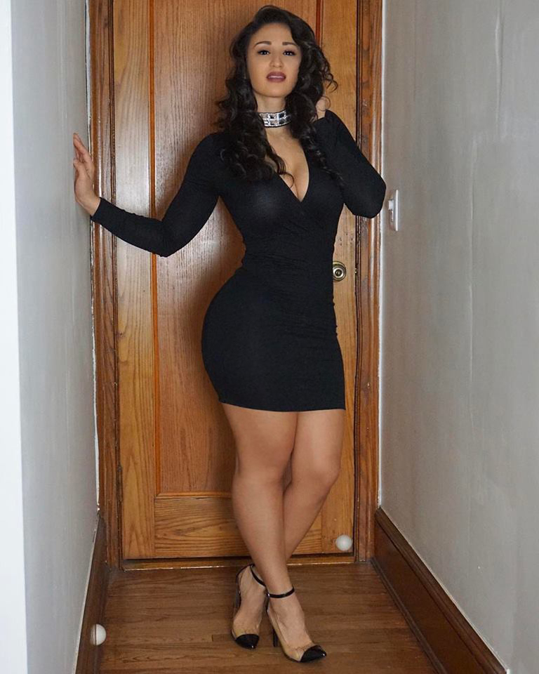 Light skinned latina with great tits
