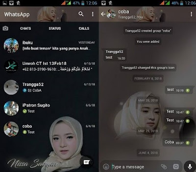WhatsApp Mod Nissa Sabyan v2.18.195 for Android