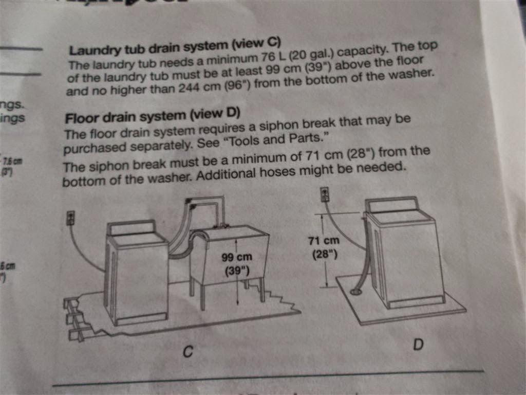 小蜜蜂 smallbee DIY: [居家] 安裝 Whirlpool 惠而浦 8TLSQ9545LW 洗衣機排水管