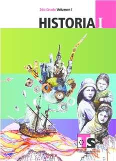 Libro de TelesecundariaHistoriaISegundo gradoVolumen ILibro para el Alumno2016-2017