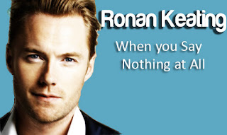 When You Say Nothing At All Ronan Keating Music Letter
