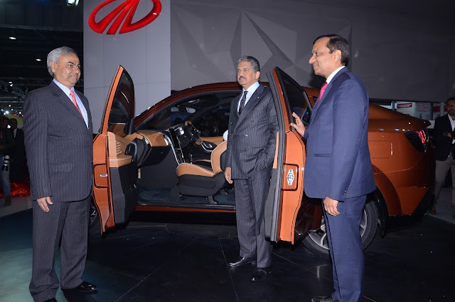Mahindra XUV Aero Concept at Auto Expo India 2016