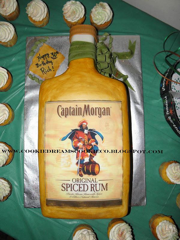 Cookie Dreams Cookie Co Captain Morgan Cake