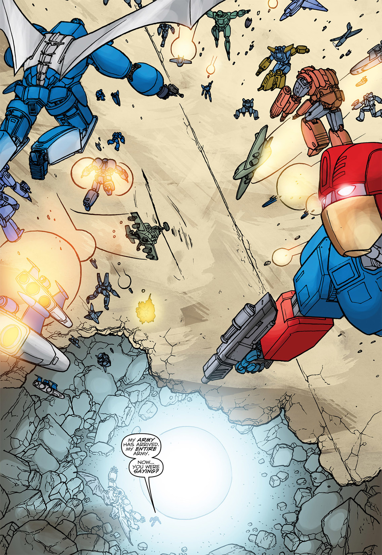 Read online Transformers: Heart of Darkness comic -  Issue #4 - 18