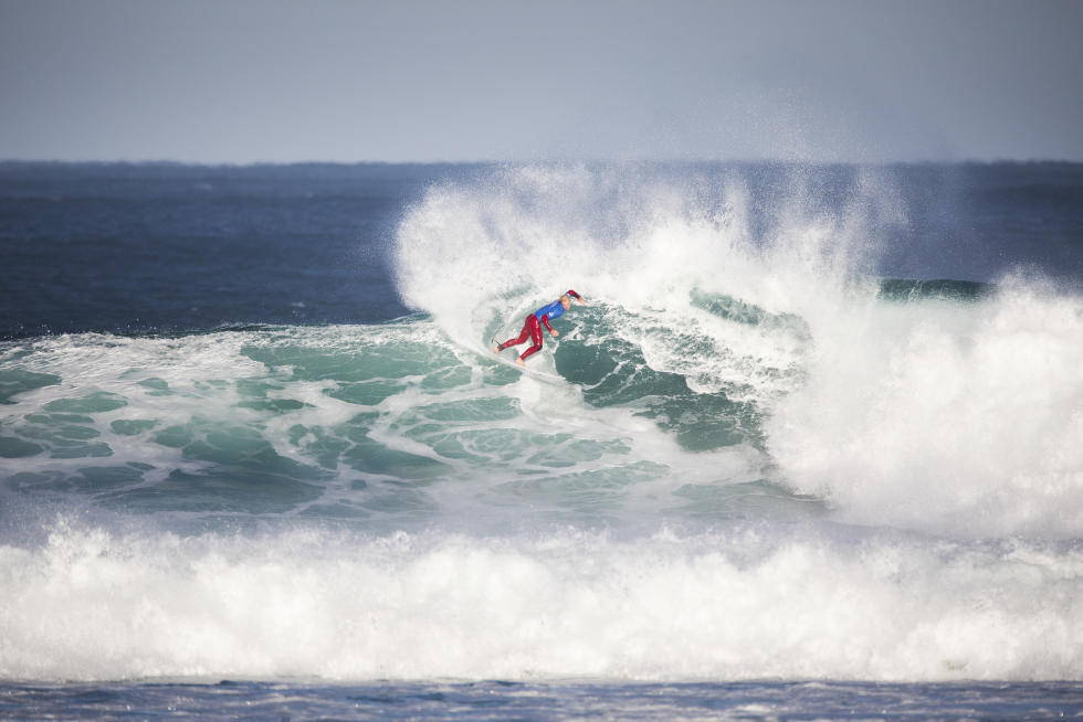 3 Nat Young rug Aware Margaret River Pro foto WSL Matt Dunbar