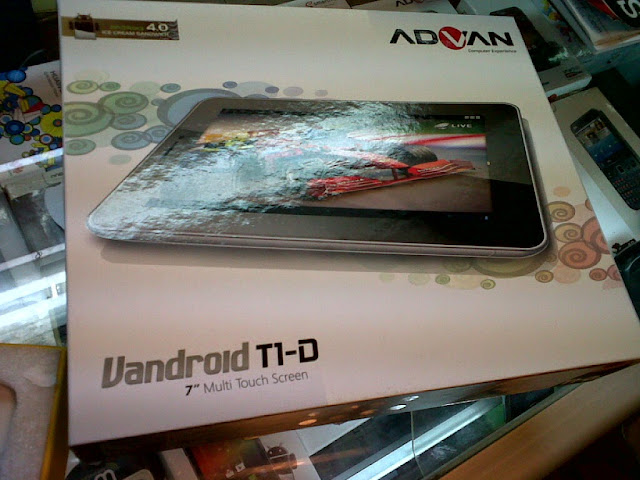 Firmware Tablet Advan T1D Original ICS