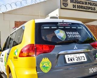Resultado de imagem para borrazopolis policia