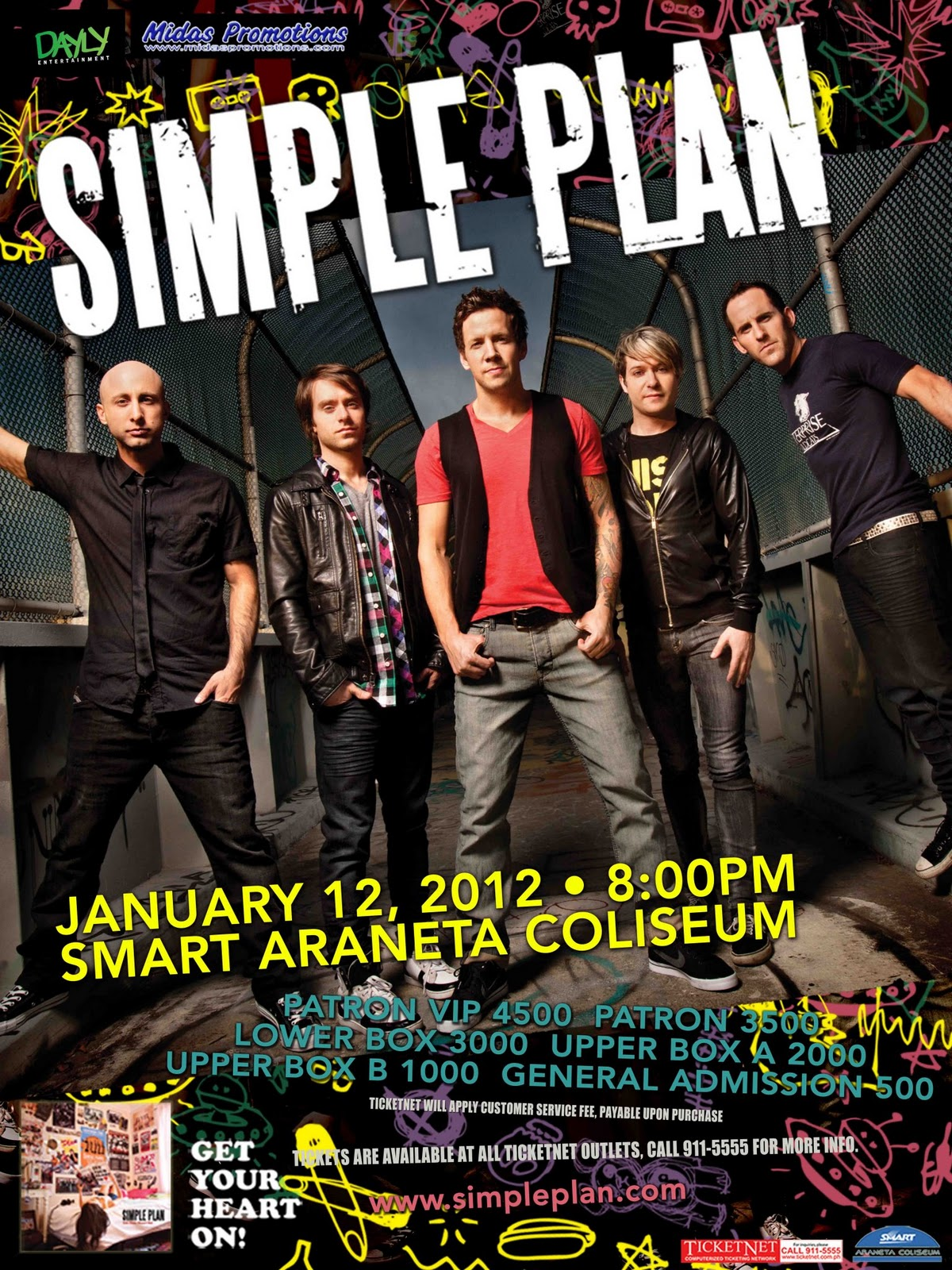 """Mister Write: Simple Plan Live in Manila: """"Get Your Heart ..."""