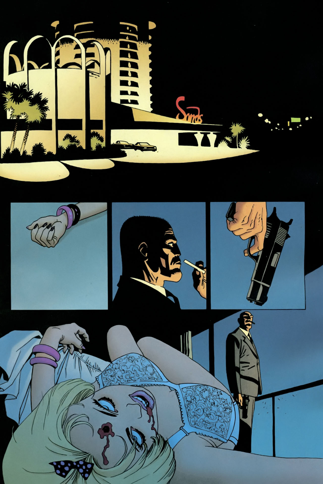 Read online 100 Bullets comic -  Issue #89 - 2