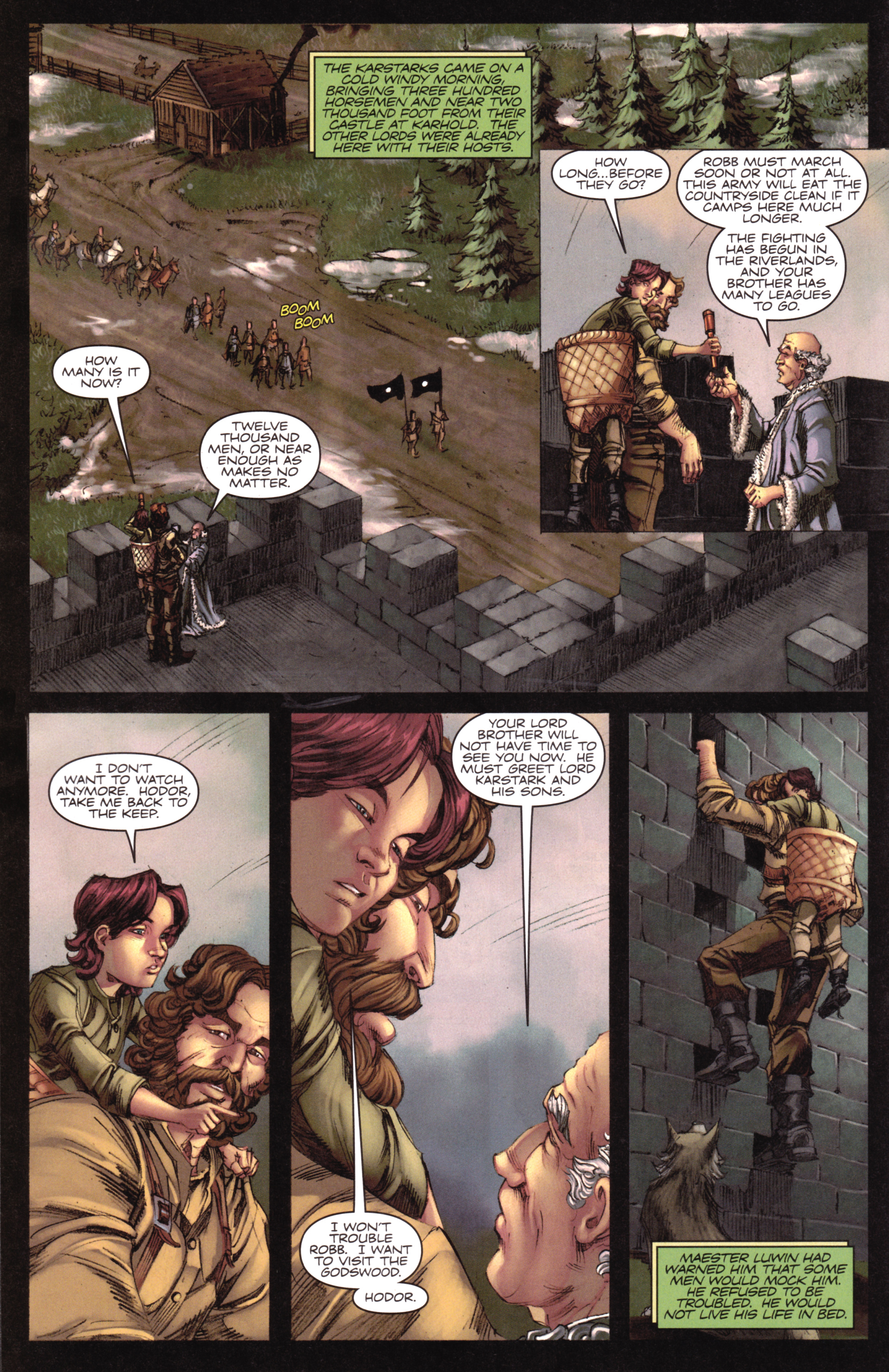 Read online A Game Of Thrones comic -  Issue #17 - 16
