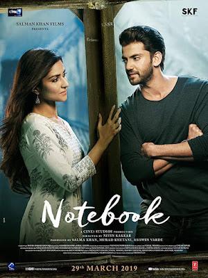 Notebook 2019 Full Hindi Movie Pre-DVDRip 700MB