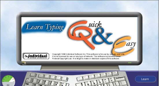 Learn typing quick & easy download free version (qnetp9. Exe).