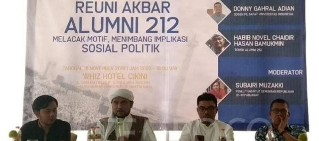 Daripada Kuras Energi Turun ke Jalan, Dosen Filsafat UI Sarankan Alumni 212 Membentuk Partai Politik