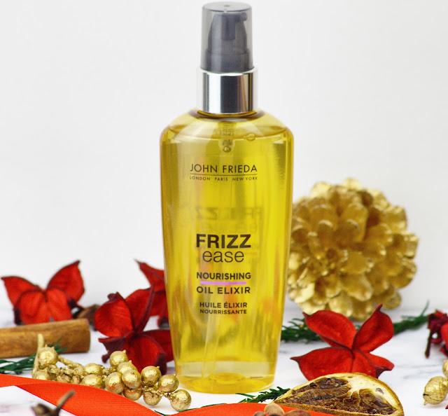 12 Days Of Frizz Ease Challenge, With John Frieda - Lovelaughslipstick Blog Review of John Frieda Frizz Ease Nourishing Oil Elixir