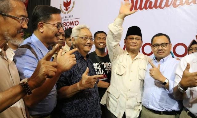 Sudirman Said: Relawan Prabowo-Sandi di Solo Solid dan Kuat