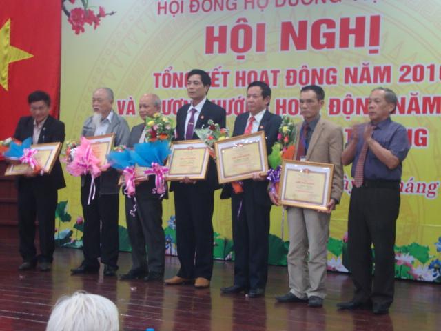 Họ Dương Việt Nam chúc thọ các cụ cao niên