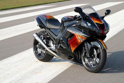 Kawasaki Ninja ZX-14R side HD Image