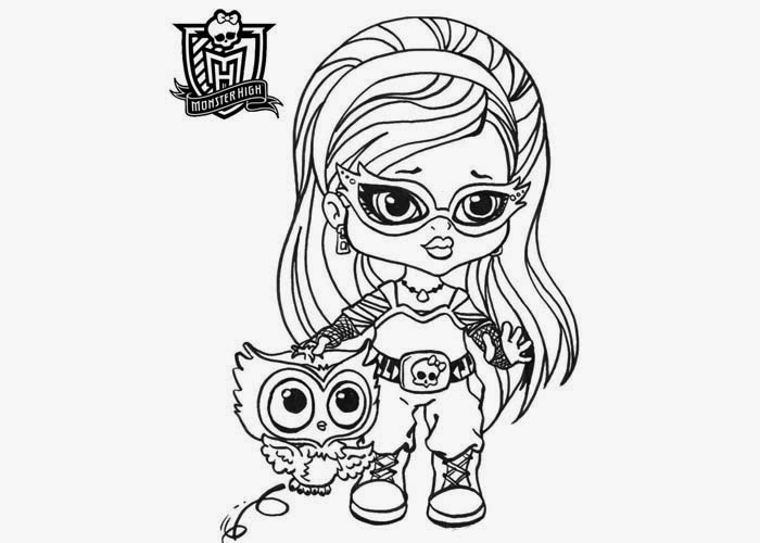 Dibujos Para Colorear De Las Monster High Bebes: Banco De Imagenes Y Fotos Gratis: Monster High Bebes Para