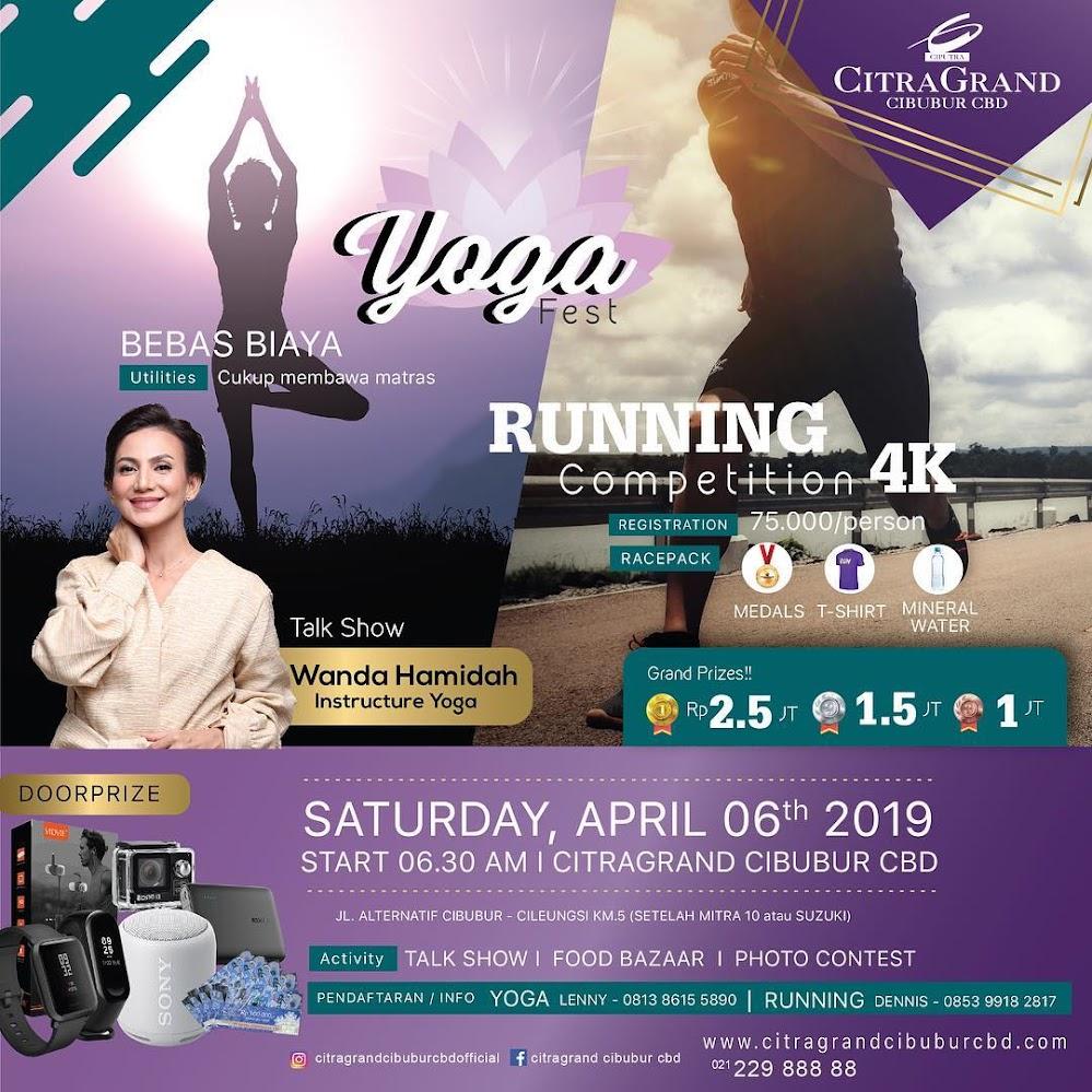 Yoga Fest & Running Competition - CitraGrand Cibubur CBD • 2019