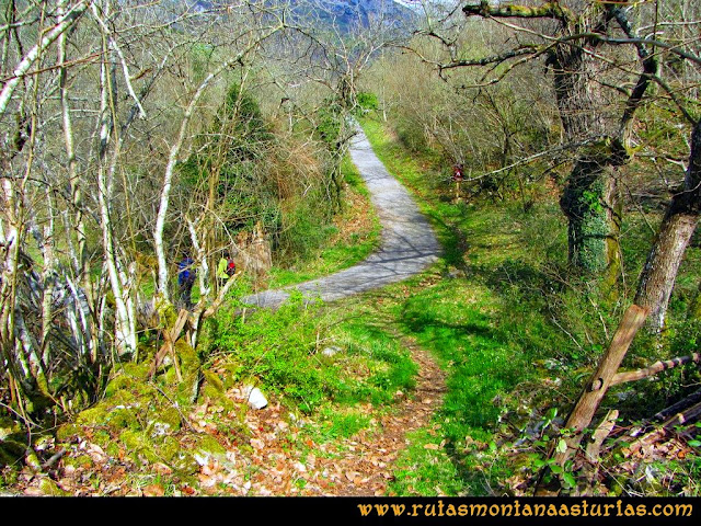 Ruta al Pico Gorrión: Conexión con carretera
